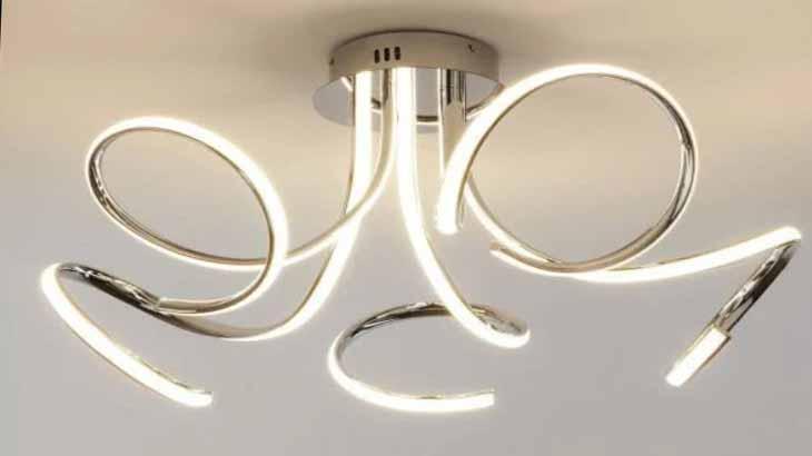 Потолочная светодиодная люстра для гостиной или спальни