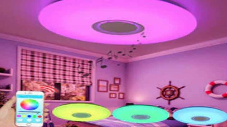Музыкальный светодиодный светильник