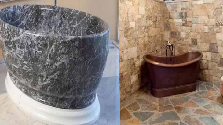 Ванны из жидкого камня