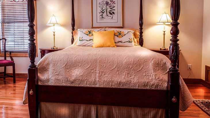 Марокканский стиль, спальня