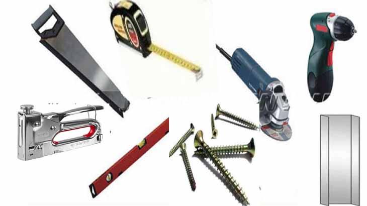 Инструменты для монтажа панелей