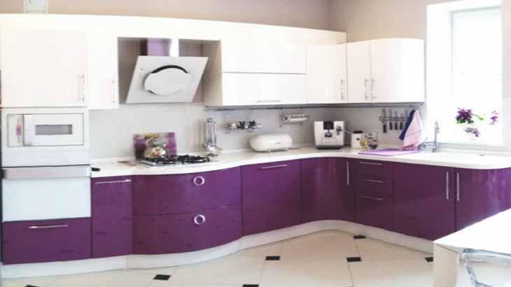 Закругленные формы кухни