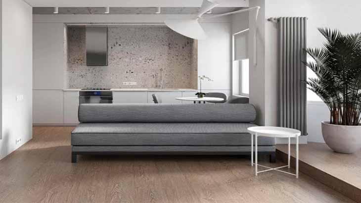 Минимум мебели в интерьере