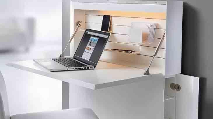 Откидывающийся письменный стол