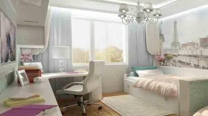 Интерьер комнаты для девочек