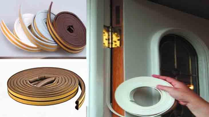 Уплотнительная лента для двери