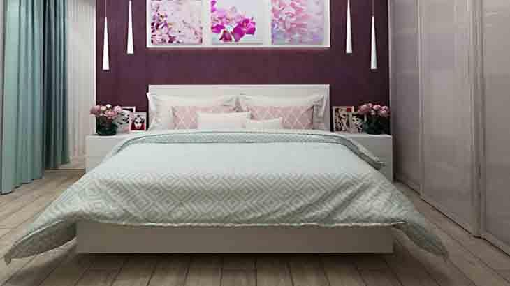 Дизайн маленькой спальни, интересные идеи