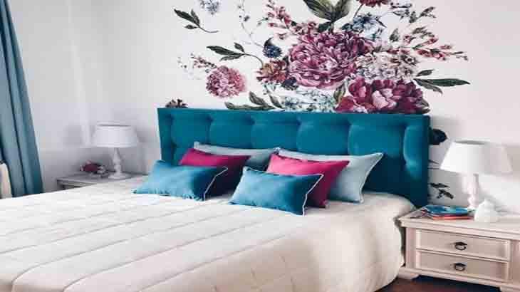 Красивый декор в спальне