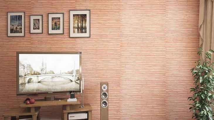 Бамбук в интерьере: бамбуковые полотно для стен