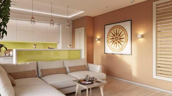 Освещение в современной квартире