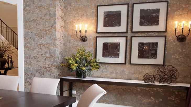Декоративная отделка стен: чем заменить обои, виды декоративной штукатурки