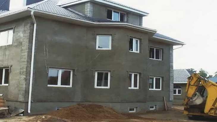 Дом с цокольным и мансардным этажом