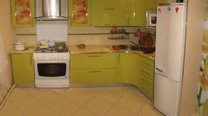 Удобная планировка кухни