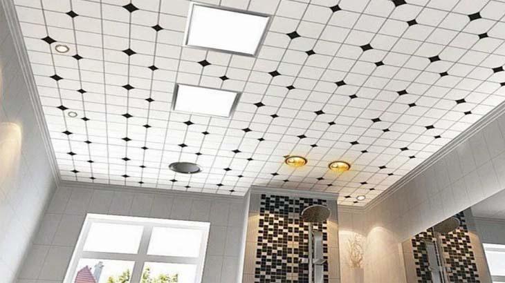 Подвесной потолок из минерального волокна