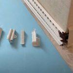 Пластиковый плинтус — монтаж как прикрепить чем отрезать